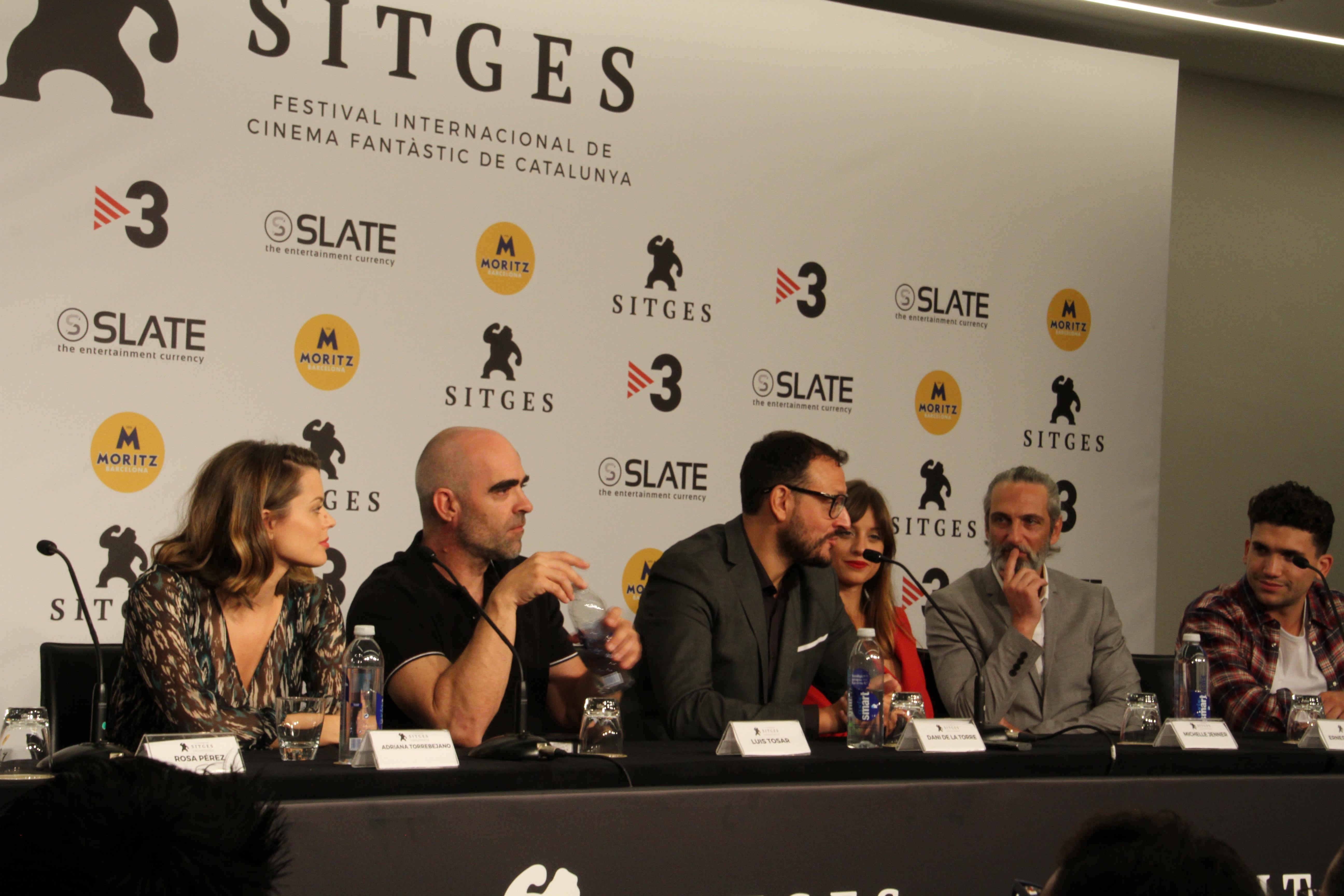 Rueda de Prensa de La Sombra de La Ley en Sitges Film Festival 2018