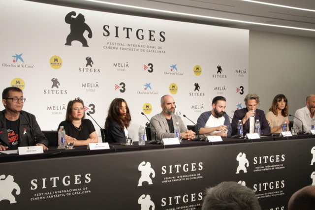 Ventajas de Viajar en Tren Rueda De prensa en Sitges Film Festival 2019