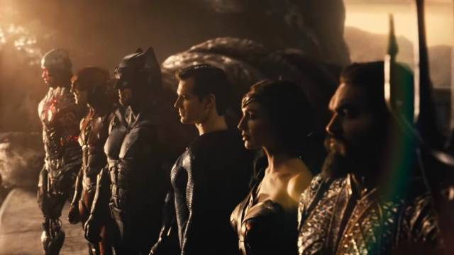 The Justice League by Zack Snyder