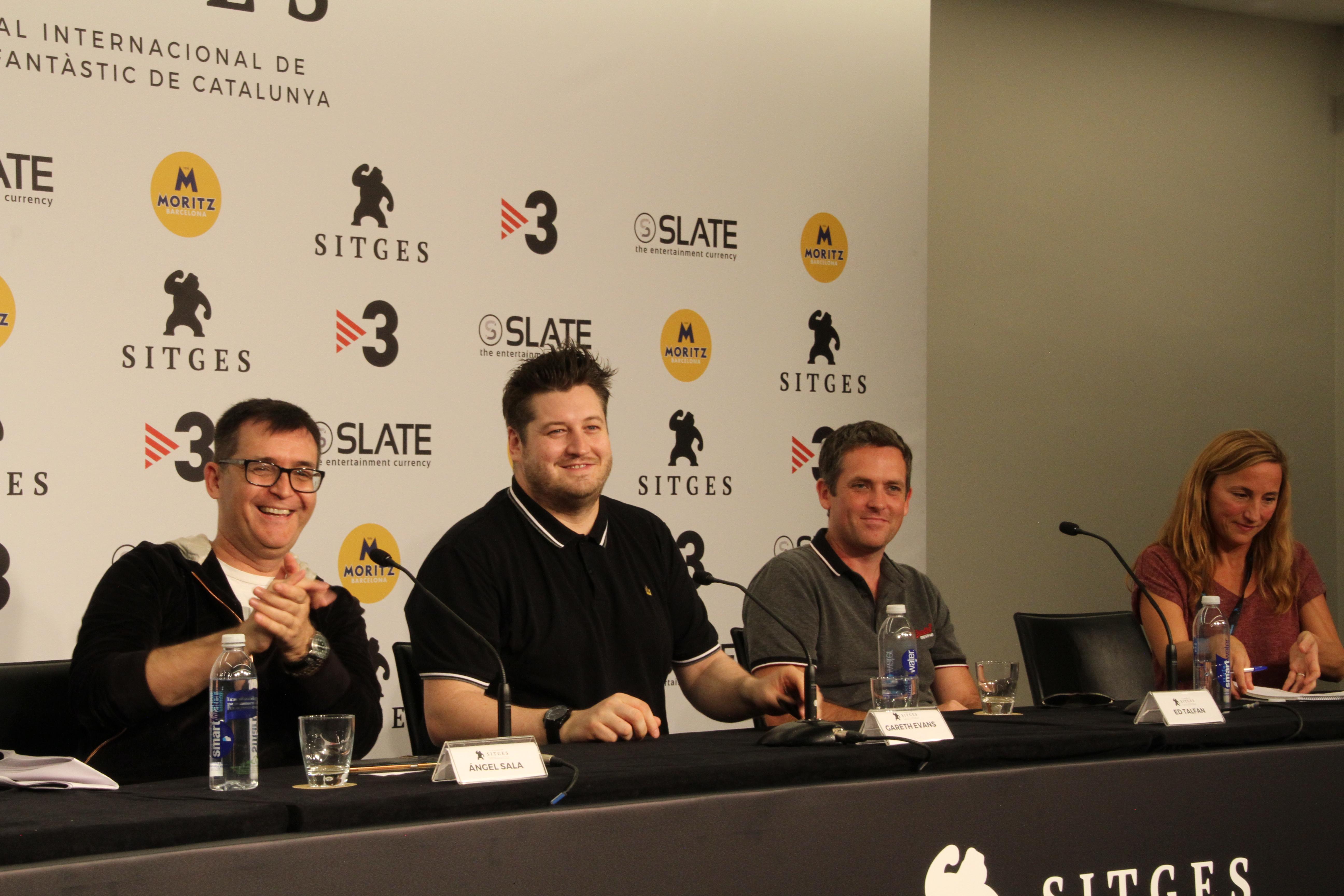 Rueda de Prensa de Gareth Evans en Sitges Films Festival 2018