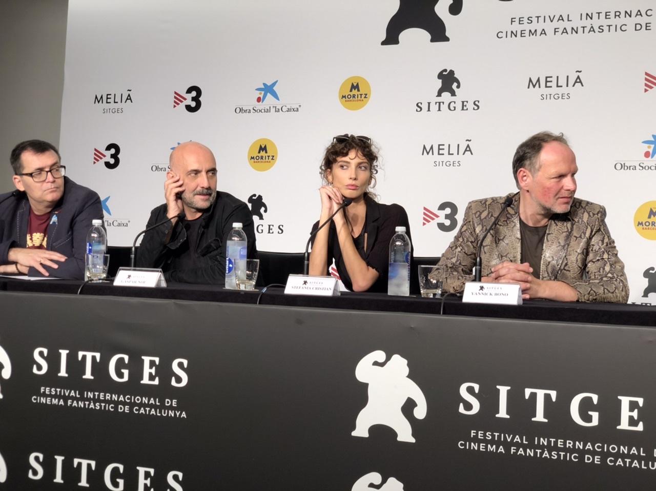 Rueda de Prensa de Lux Aeterna en Sitges Film Festival 2019