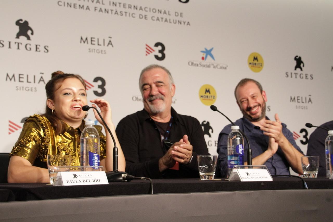 Rueda de prensa de Cuerdas en Sitges Film Festival 2019