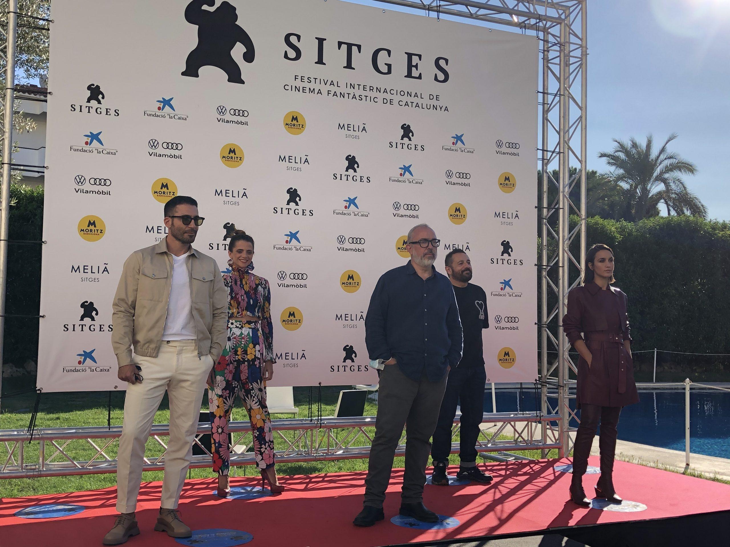 Rueda de Prensa de 30 Monedas en el 53º Sitges Film Festival 2020