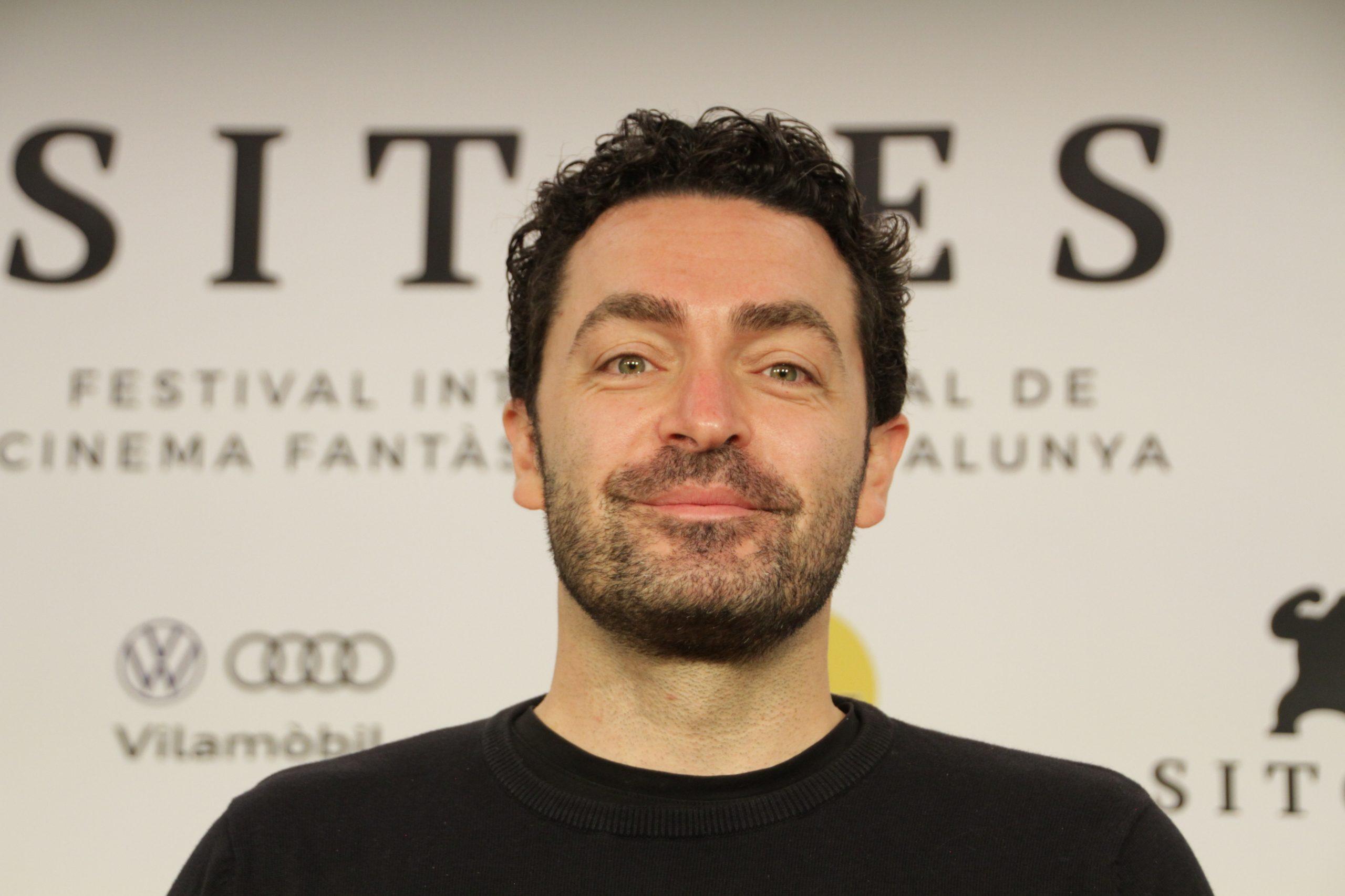 Julien Maury en la rueda de prensa de Kandisha en Sitges Film Festival 2020